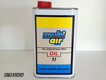 Aceite MULTI AIR para remojar los filtros de aire 1L