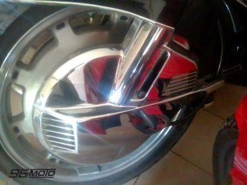 Honda Gold Wing 1500 blade guard