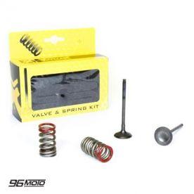 Prox Zawory wydechowe stalowe + sprężyny KXF 250 (04-16) RMZ 250 (04-06) wyprzedaż