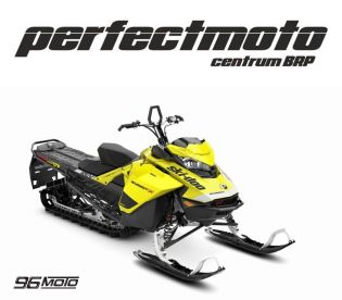 SKI-DOO Summit X 154 850 E-TEC SHOT NOVÝ MY 2020