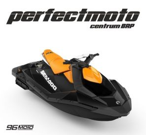Sea-Doo Spark 2up STD iBR 90 km NOVÝ MY 2020