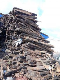 Podkłady Kolejowe logry szwele