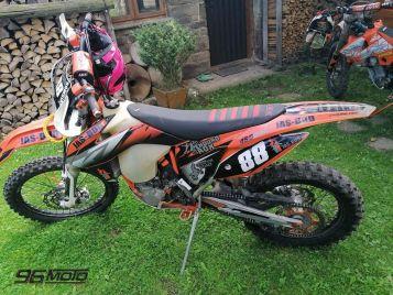 Ukradnuté KTM EXC 450