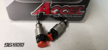 Accel suspension vents