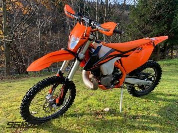 KTM EXC 300 TPI model 2019 and the owner of the salon Poland