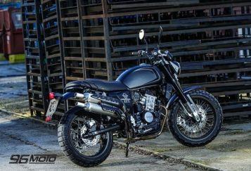 SWM Ace of Spades 125cc kat.B Scrambler Classic